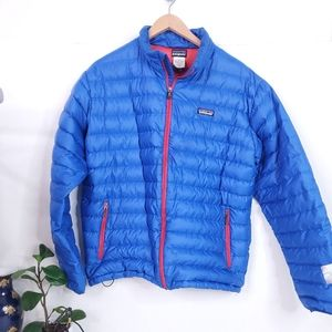 Patagonia Mens Goose Down Zip Up Jacket